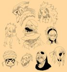 Extra Character Sketches by osy057