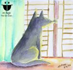 Lonely Dog in the Bright Day by sw-eden