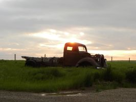 38 Ford sunrise by QuanticChaos1000