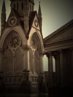 MONUMENTS ( SEPIA ) by ANDYBURGESS