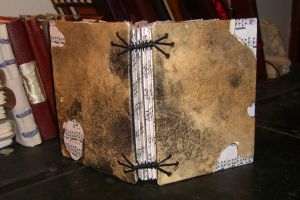 Antique Music Book by msjbass
