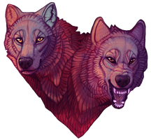 I Feed Both Wolves by engross