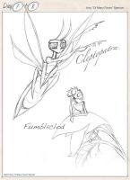 Cleptopatra et Fumbleclod by cephaloneiric