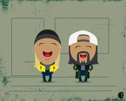Jay and Silent Bob by cdup999