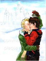 White Mistletoe HxD Christmas by bluestraggler