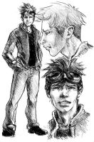 Male Character Sketch by comichelle