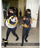 Ninja Halloween Costumes by SugiAi