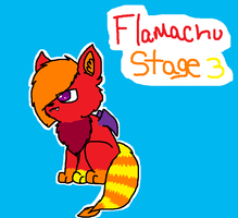 Flameachu Stage 3 by FlameFiggleBottom