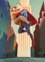 Superman And Lois by Aste17