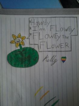 Flowey Color by mariobros1807