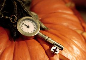 Autumnal Clock by E-Death-Rose