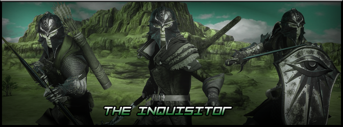The Inquisitor - DA Inquisition fansign by Gladiatuss