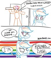 Rainbow Dash is AWESOME (Comic) by drawponies