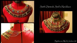 Egyptian Necklace- Seth by Jackov