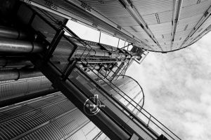 Industrial Sky I by DrNoPlan