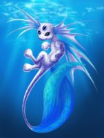 Puddles the Viscious Sea Demon by TiffanySketches