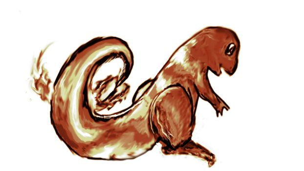 Charmander from Memory by GTMais