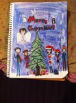 Merry Christmas Deviantart!!! (Aph guest stars) by Whitelili123