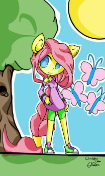 Fluttershy (MLP) by tixit55