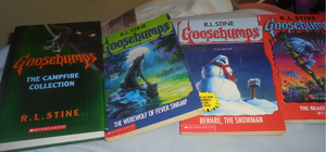 Goosebumps collection 5 (best haul ever!) by TMNTFAN85