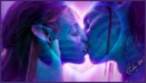 Avatar Kiss by RockerMissTammy