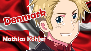 [APH] Denmark (Mathias Kohler) Wallpaper by BunnyBeryl