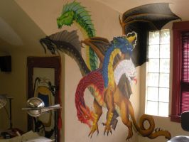 my tiamat mural 1 by arcanineryu