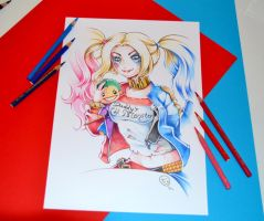 Suicid Squad Harley Quinn by Lighane
