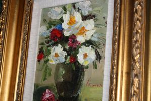 painter of flowers by nadezhda20