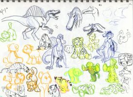 Sketches Mar 2010 05 by FablePaint