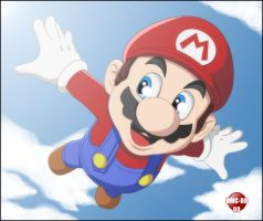 It's Me... MARIO - COLORED by dmc-br