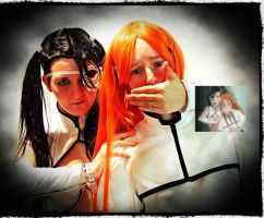 Orihime and Loli. by surlycat