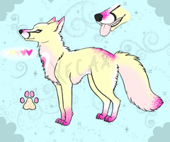 Sparkledog Adoptable 1 (Name Your Price!) [CLOSED] by Xecax