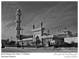 Jamia Mosque Aal e Abaa by ann-beyond-repair