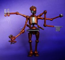 Surgical Droid A4-D by mousedroid-hoojib