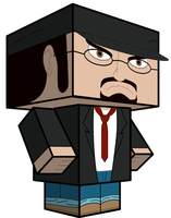 Nostalgia Critic Cubeecraft by Toon-Orochi