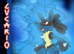 Lucario Wallpaper by AR-ameth