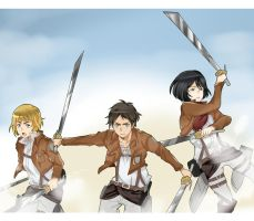 Attack on titans more like Heart attack by Neikhael