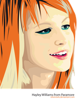 Hayley Williams by SilverOwls