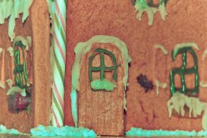 Gingerbread House IV by scribbleXcore