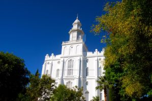 LDS St. George Temple 1 by creativelycharged