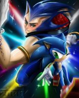 Sonic by axouel2009