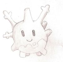 Corsola by moe-kawaii-sunshine
