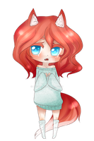 Chibi Kitsune adoptable- close by noekki