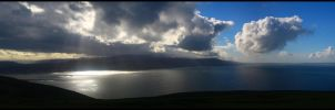 Irish sea west of Llandudno by klaudelu