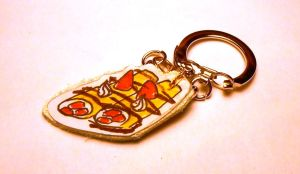 Crepes Keychain by idont0know