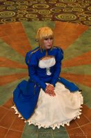Saber Cosplay by thatbloodypirate