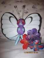 Butterfree Papercraft by PrincessStacie