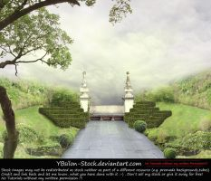 Premade Background Park by YBsilon-Stock