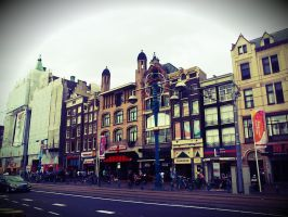 Amsterdam buildings by Killerland